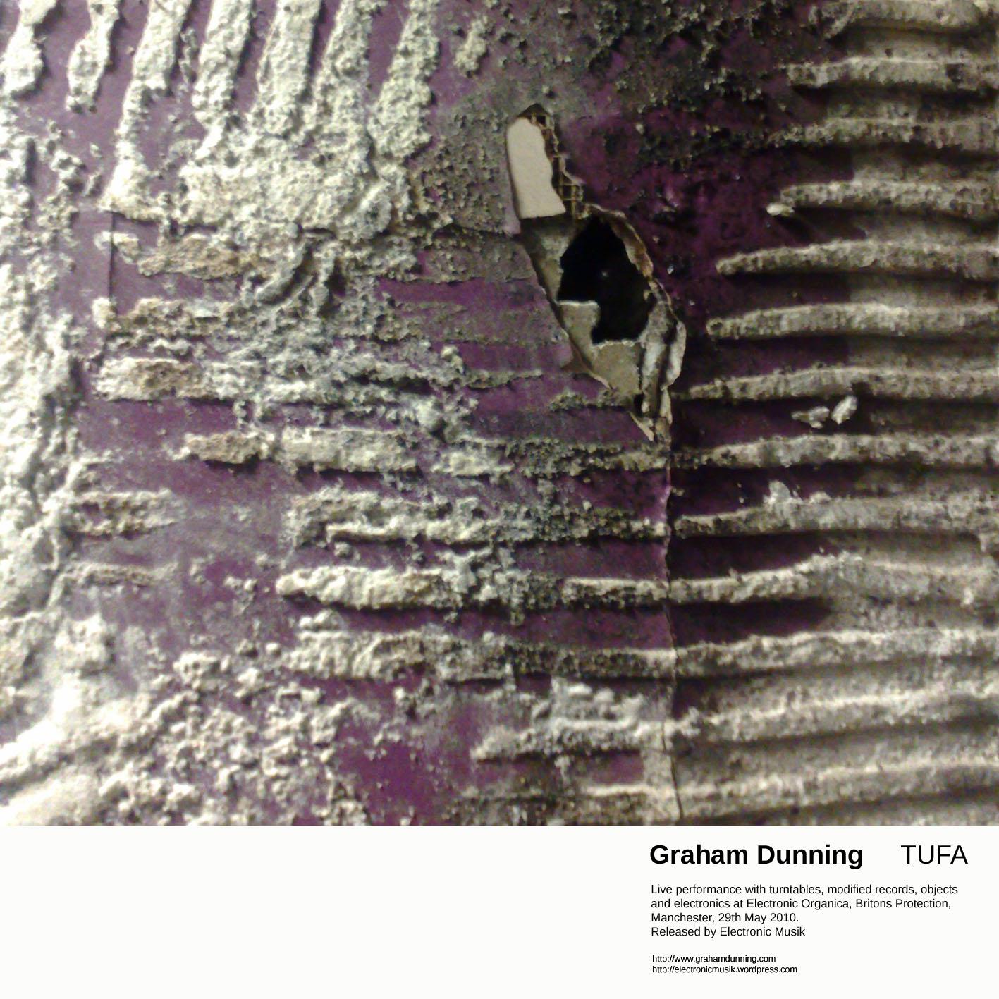 Graham Dunning - TUFA - Electronic Musik