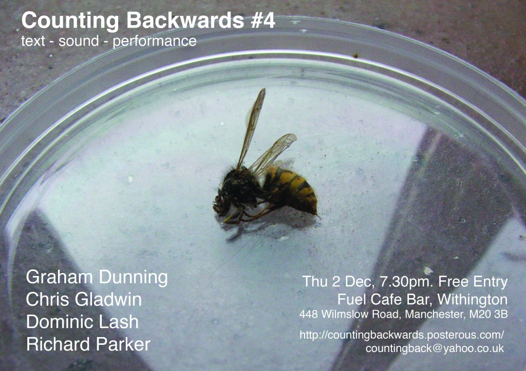 Counting Backwards flier